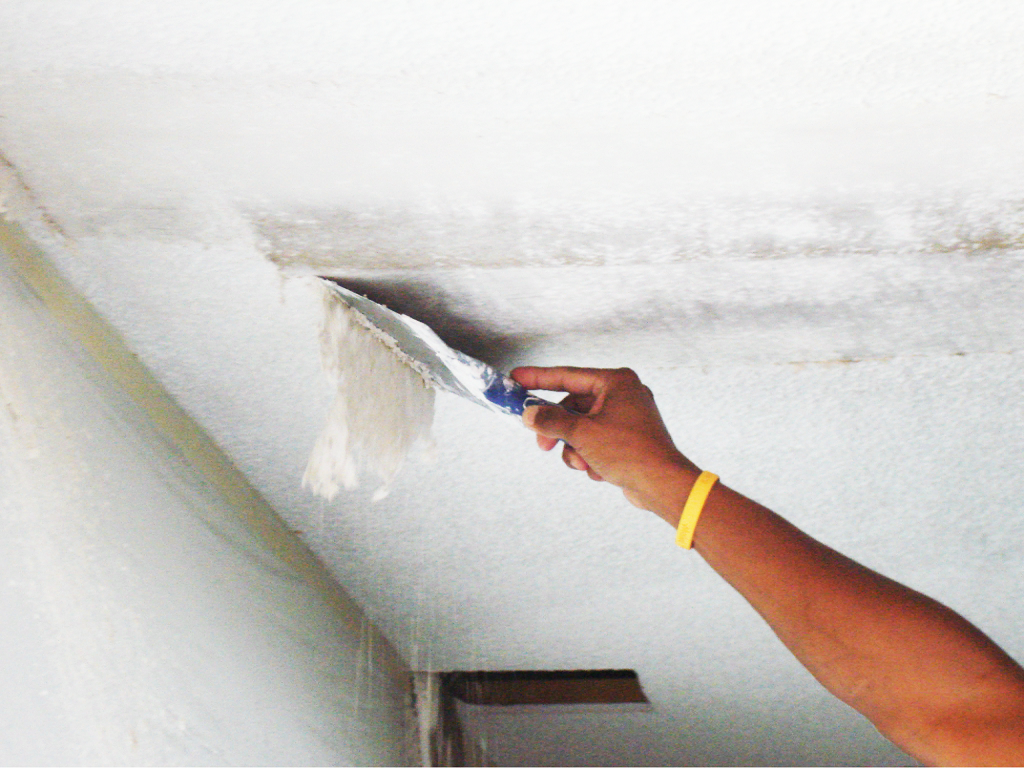 How Long Does Popcorn Ceiling Removal