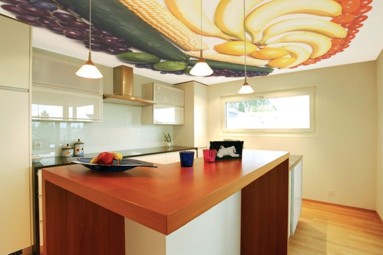 Acoustic Stretch Ceilings in a Home