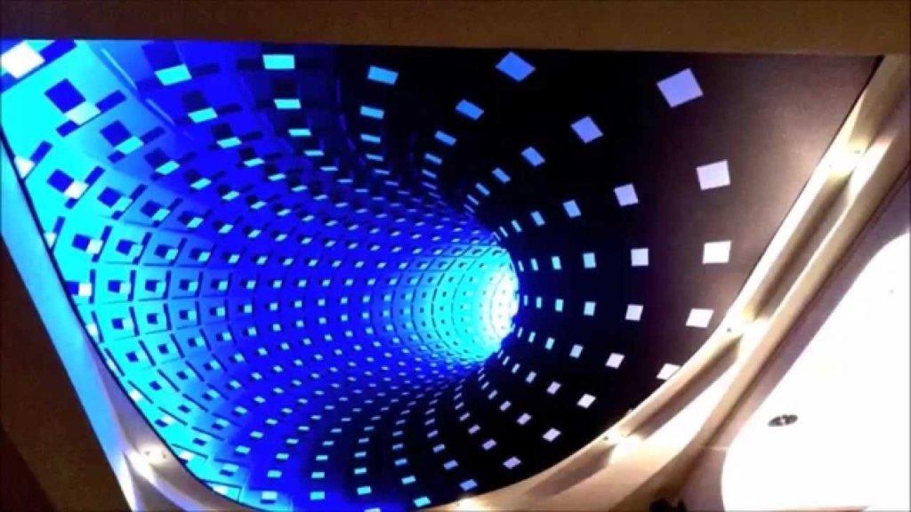 Stretch Ceiling Light Fixture