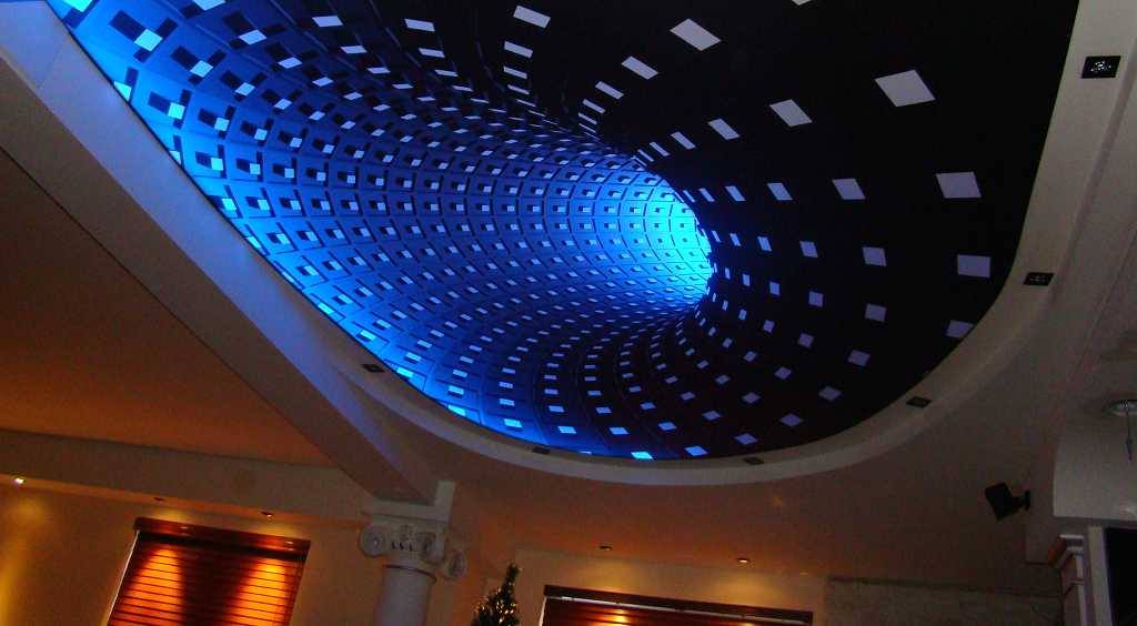 LED Backlit Stretch Ceiling